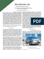 Driverless Car Ieee Format