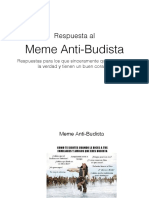 Respuesta al Meme Anti Budista