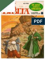 La Biblia. Ilustrada a Color Ed. Bruguera 793 Pag