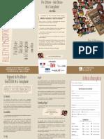 Bulletin Inscription Prix Litteraire Alain Decaux de La Francophonie