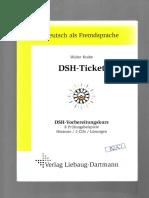 dsh ticket - Dsh Prufung Beispiel Mit Losungen