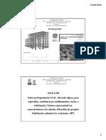 Aula 02 - Revisão de Mecânica Dos Solos. Solicitações Admissíveis e Resistentes.