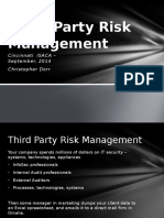 Third Party Risk Management_Domain Overview