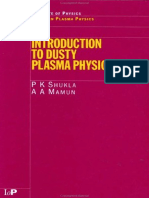 (Series in Plasma Physics) P.K Shukla, A.a Mamun-Introduction to Dusty Plasma Physics-Taylor & Francis (2001)