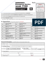 Rescue 1122 Form B