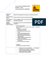CNSafiliacion a La CNSalud
