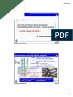Based Enlarged Preboring Method With Nodular Pile