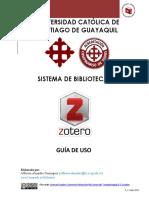Zotero Guia Ucsg