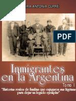 Libro Immigrantes I Los Italianos de Antonia Alcira Cufré