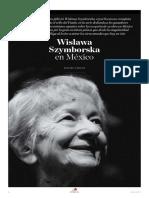 Wislawa Szymborska en México