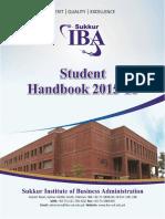 SIBA Student Handbook 2015 16 September 08 2015