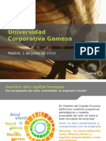 Universidad Corporativa Gamesa