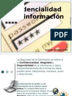 Proteger la confidencialidad de la información