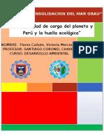 capacidad carga del territorio peruano