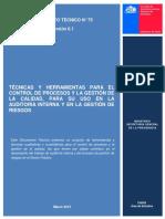 75 Tecnicas y Herramientas Para El Control de Procesos y La Gestion de La Calidad