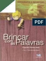 Brincar Com as Palavras Pontuaçao Ortografia Redaçao