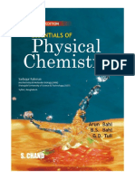 Essentials of Physical Chemistry(Multicolor Edition)
