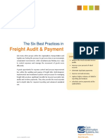 Best Practices in Freight Audit Payment Cass