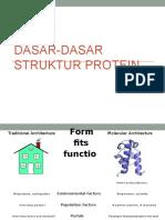 Dasar-dasar Struktur Protein (Bakul)