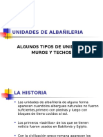 Unidades de Albañileria ppt