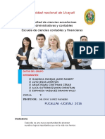 informe de costeo de empresa maderera