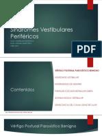 05 - Síndromes Vestibulares Periféricos [Autoguardado]