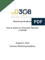 2016 mentoring handbook