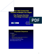 Basic Well Construction and Frac Design Concepts