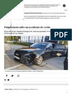 Carles Puigdemont Sufre Un Accidente de Tráfico