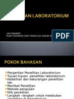 PENELITIAN-LABORATORIUM