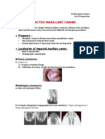 Impacted Maxillary Canine Surgical Exposure