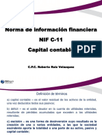 Norma de Informacion Financiera Nif c11 Sobre Capital Contable