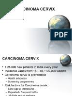 Carcinoma Cervix24