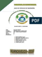Balance Hidrico y Climograma - Churcampa
