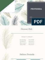 PESTISIDA Ppt Kelompok 20