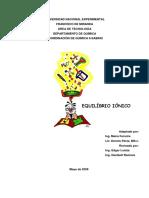 Guía de Estudio Equilibrio Ionico Ultima Revisión