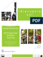 Outdoor Training y Turismo de Incentivos