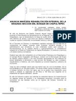 Chpaultepec Anuncio Plan Maestro