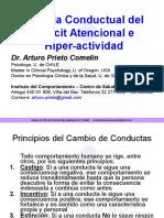 Terapia Conductual Del Déficit Atencional e Hiperkinesia