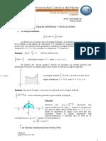 Apunte y Guia de Ejercicios Integrales Definidas y Aplicaciones _Cálculo II_INGECO_2ºSem 2011