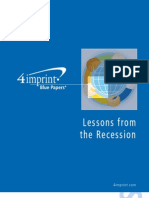 Lessons From the Recession