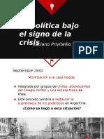 La Politica Bajo El Signo