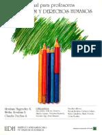 Manual Profesores Curriculum y Ddhh 1993