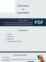 Resumen PPT Diverse Views on Asset Bubbles 1.1