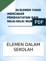 Elemen-elemen-Yang-Mencabar-Penghayatan-Dan-Nilai-nilai-Murni.ppt