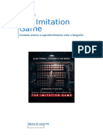 Tesina di Maturità su The Imitation Game [Liceo Scientifico]