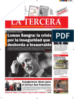Diario La Tercera 21.09.2016