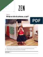 Mi Hijo Se Viste de Princesa, ¿y Qué_ _ Zen Sección _ EL MUNDO