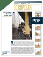 Micropile Brochure