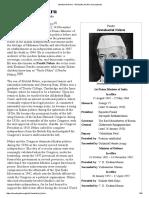 Jawaharlal Nehru - Biography